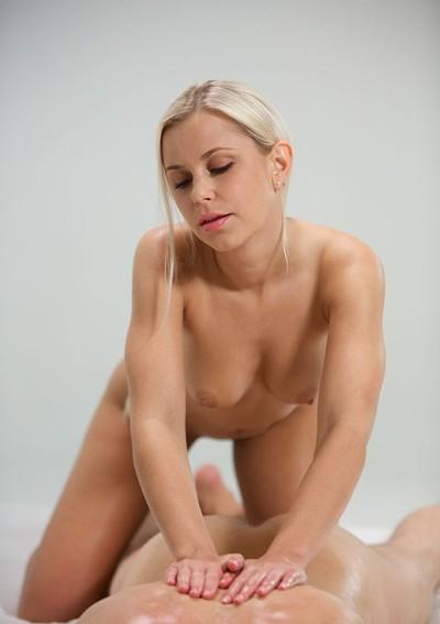 Lara in penis massage from Joymii