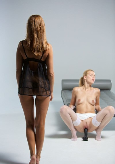 Delphine and Sabrisse in Lesbian Lust from Joymii